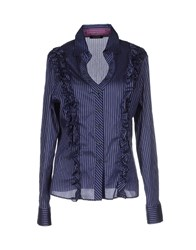 Diana Gallesi Shirts Shirts Women Dark Blue