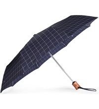 Fulton Cross Printed Umbrella Black