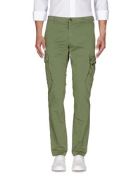 Franklin And Marshall Casual Pants Military Green