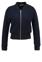 Wal G G. Bomber Jacket Navy Dark Blue