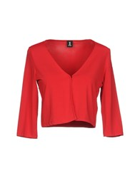 1 One Cardigans Red