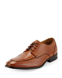 Cole Haan Adams Leather Split Oxford Lace Up British Tan