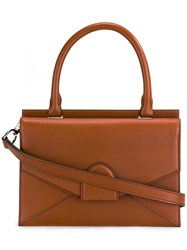 Bertoni 1949 Small 'Dafne' Tote Brown