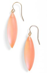 Women's Alexis Bittar 'Lucite Neo Bohemian' Small Sliver Earrings Fluorescent Melon