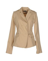 Amy Gee Suits And Jackets Blazers Women Brown