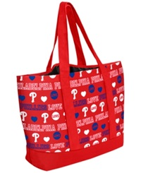 Forever Collectibles Philadelphia Phillies Tote Bag Red
