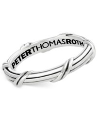 Peter Thomas Roth Overlap Band In Sterling Silver 3Mm