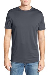 Robert Barakett Men's 'Georgia' Crewneck T Shirt Cool Grey