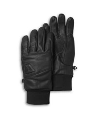 Eddie Bauer Mountain Ops Leather Gloves Natural