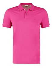 Ck Calvin Klein Pete Fitted Polo Shirt Pink