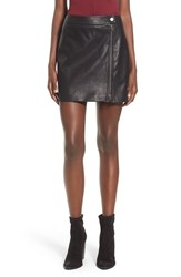 Leith Women's Faux Leather Skirt