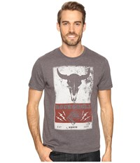 Rock And Roll Cowboy Short Sleeve Tee P9 8064 Charcoal Men's T Shirt Gray