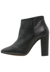 Selected Femme Sfthora High Heeled Ankle Boots Black