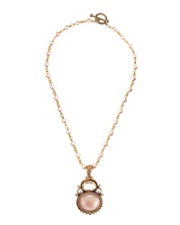 Stephen Dweck Pink Pearl Natural Quartz And Mother