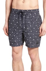 Jack Spade Men's Graph Check Swim Trunks