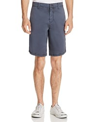 John Varvatos Star Usa Garment Dyed Slim Fit Shorts Coal