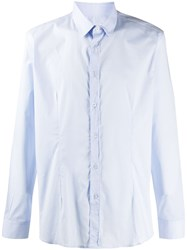 Daniele Alessandrini Buttoned Formal Shirt Blue