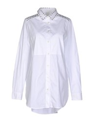 Pinko Tag Shirts Shirts Women White
