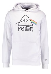 Poler Psychedelic Hoodie White