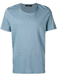 Zadig And Voltaire Toby T Shirt Blue