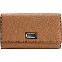 Fendi Women's Selleria Continental Turn Lock Wallet Tan