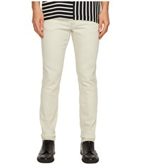Mcq By Alexander Mcqueen Strummer Jeans Optic White Men's Jeans