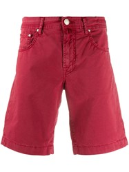 Jacob Cohen Classic Shorts Red