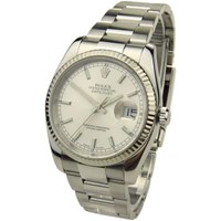 Rolex Datejust Steel And White Gold 116234