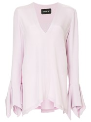Kitx Loose Flared Blouse Pink