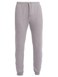 Derek Rose Devon Cotton Track Pants Grey