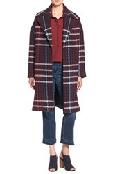 Charles Gray London Women's Grey Plaid Wrap Coat