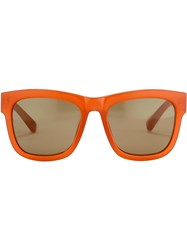 Linda Farrow 3.1 Phillip Lim 6 C8 Sunglasses Yellow And Orange