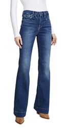 Good American Flare Jeans Blue363