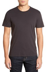 Men's Velvet By Graham And Spencer 'Howard' Crewneck T Shirt Exhaust Grey