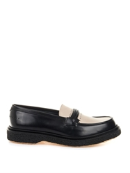 Adieu Type 29 Bi Colour Leather Loafers