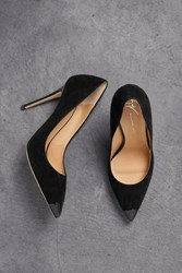Giuseppe Zanotti Woman Lucrezia 105 Patent Leather Trimmed Suede Pumps Black