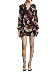 Minkpink Lost In Paradise Floral Dress Multicolor