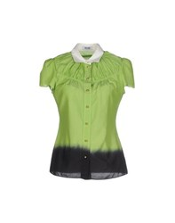 Moschino Cheap And Chic Moschino Cheapandchic Shirts Shirts Women Light Green
