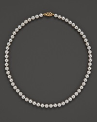 Tara Pearls Akoya Cultured Pearl Necklace With 18K Yellow Gold Clasp 16 White