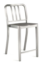 Emeco Heritage Counter Stool Silver
