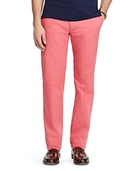 Polo Ralph Lauren Stretch Cotton Classic Fit Chino Pants Red Coral