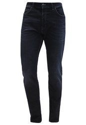 7 For All Mankind Larry Relaxed Fit Jeans Darkblue Denim Dark Blue