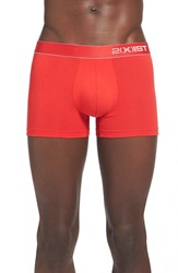 2Xist Stretch Pima Cotton Trunks Barbados Cherry
