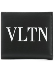 Valentino Garavani Branded Card Holder Black