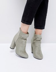 967034d0c47 Public Desire Suzanna Heeled Ankle Boots Grey