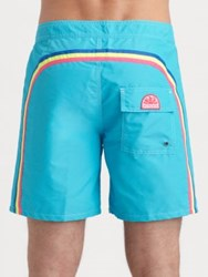 Sundek Rainbow Board Shorts Bright Green Army