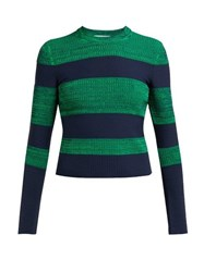Sportmax Po Sweater Green Multi