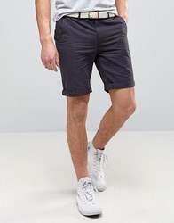 Bellfield Chino Shorts Navy