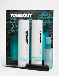 Toni And Guy Create The Look Casual Tousled Waves Set Tousledwaves