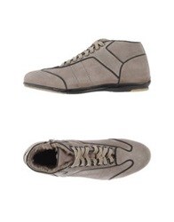 Alexander Hotto High Tops And Trainers Dove Grey